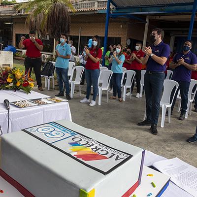Evento de celebración del 61 aniversario de Pinturas Algreco
