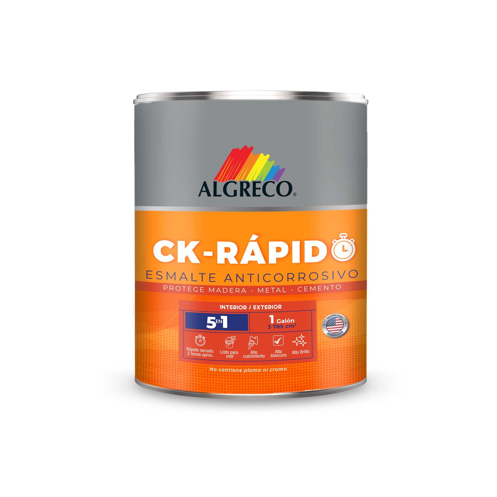 Imagen del nuevo esmalte CK Rápido Algreco